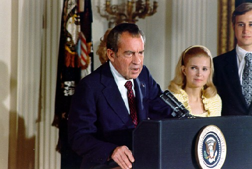 File:Nixon resigns as President.jpg