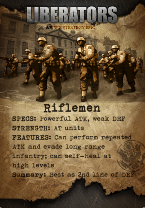 Liberators Riflemen