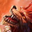 Solar Wolf Icon