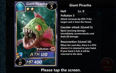 Giant Pirahna