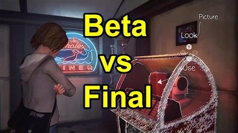 Life is Strange Episode 2 Beta vs Final changes part 1