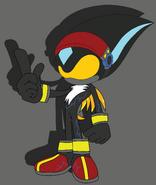 Venice Lightning Suit Silhouette4