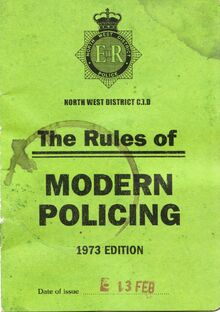 Rules of modern policing promo