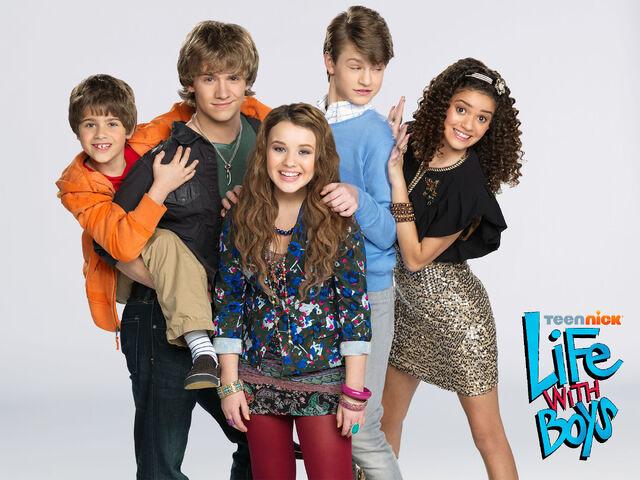 File:Life with Boys Teennick Cast.jpg