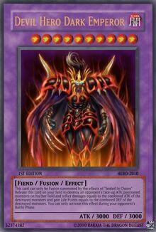 Devil Hero Dark Emperor