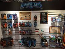 Lightseekers toy display