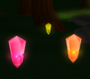 Collect a Red, Yellow, and Orange Crystal