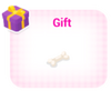 Gem dog gift with floppy ears thing