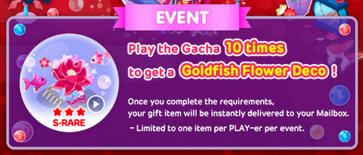 Goldfishlovesongevent