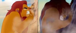 Simba-mufasa-similarities