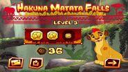 Hakuna Matata Falls Level 3