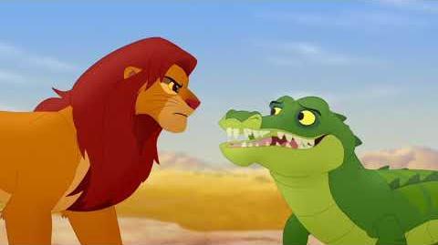Makuu speaks with Simba