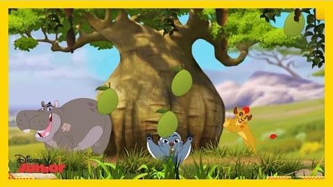 La Guardia del León Baobabs Bunga Disney Junior