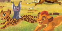 Mistakes in The Lion Guard Literature