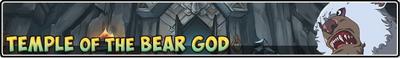Temple of bear god