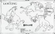 Model Sheet Banzai