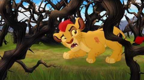 The Lion Guard- Nala, Kiara, Kion and the Thorn Bushes
