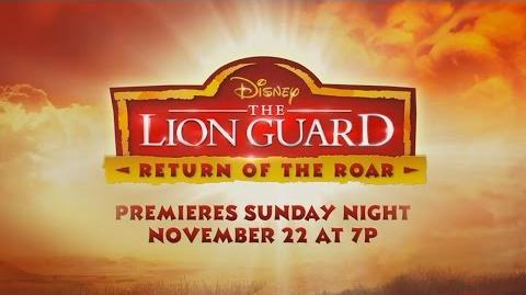 The Lion Guard Return of the Roar - Teaser