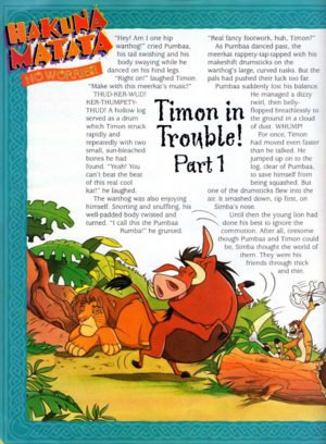 Timon in Trouble 1