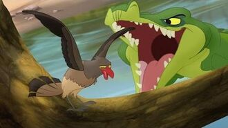 Lion Guard Makuu Attacks! Ono the Tickbird HD Clip