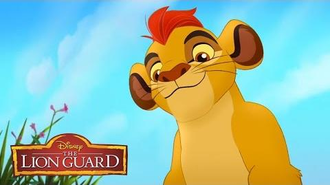 Meet the New Descendant Kion The Lion Guard Return of the Roar Disney Channel-0