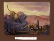 KingOfTheJungle-LionAndCheeta