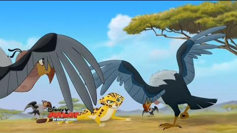 The Lion Guard- Fuli & the Vultures