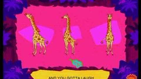 It's Fun To Be A Giraffe