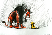 Scar/lionsimba/cub