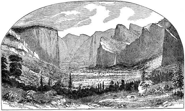 File:YosemiteValley1stSketchThomasAyres1855.jpg