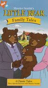 Maurice Sendak's Little Bear, Family Tales (VHS, 1997) (1998 Artwork)