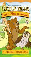 Maurice Sendak's Little Bear, Let's Play A Game (VHS, 2001)