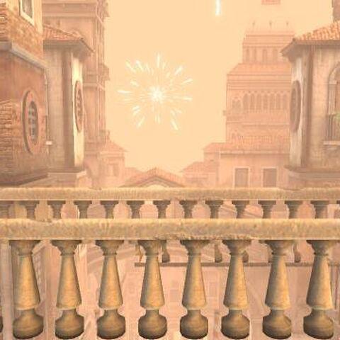 Bunkum Lagoon background in LittleBigPlanet 3