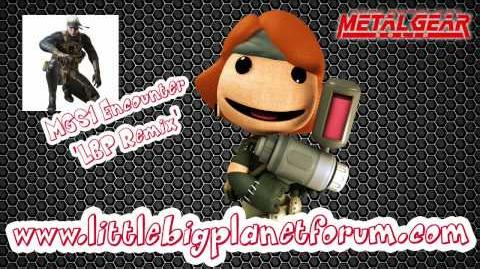 Littlebigplanet DLC soundtrack - MGS1 Encounter 'LBP Remix'