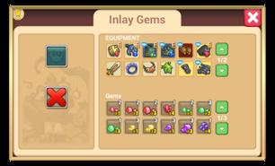 Inlay gems