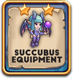 Succubus equipment
