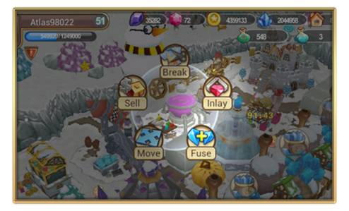 Screenshot alchemy lab features