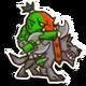 Icon wolf rider