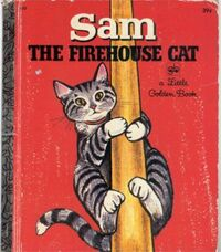 Sam the Firehouse Cat