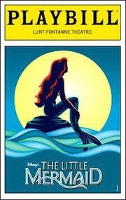 The Little Mermaid Musical Playbill