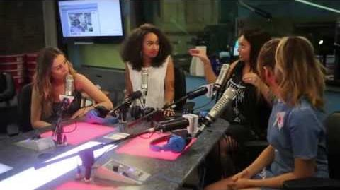 Little Mix Drops by Elvis Duran and the Morning Show