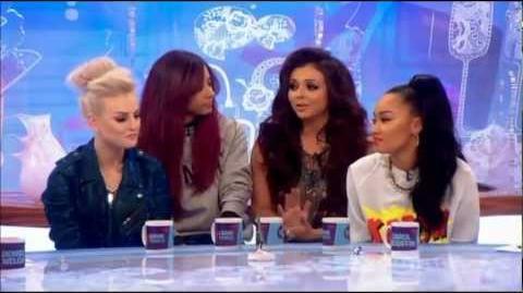 Little Mix Interview on Loose Women (November 2012)