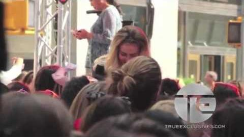 Behind The Scenes with Little Mix At The Today Show