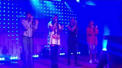 Little Mix - Black Magic (Acoustic) - Live at The Qube in Amsterdam