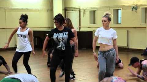 Salute Dance Rehearsal Part 2!