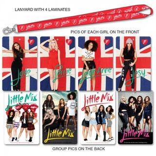 Little Mix Tour Lanyard<font size=