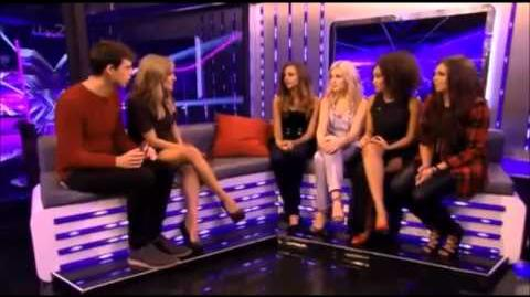 LITTLE MIX singing 'Little Me' on the Xtra-Factor 3.11