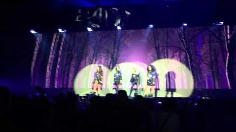 Little Mix - Secret Love Song (pt 2) Cardiff Motorpoint Arena 13th March 2016