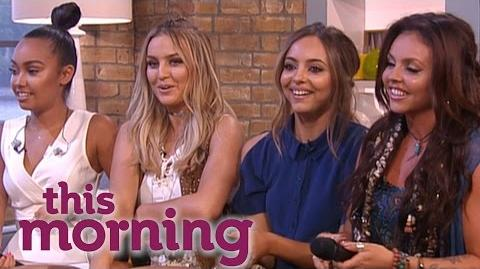 Little Mix Take Questions From Fans This Morning