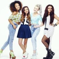 Little Mix wearing their day makeup